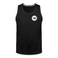 Tank Tops ~ Men's Premium Tank Top ~ Logo | CutAndJacked | Mens tank