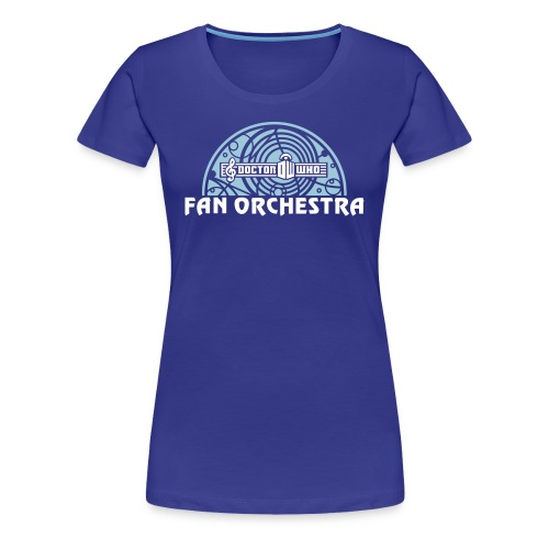 Women's Royal - DWFO logo T - Women's Premium T-Shirt