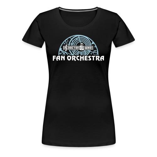 Women's Black - DWFO logo T - Women's Premium T-Shirt