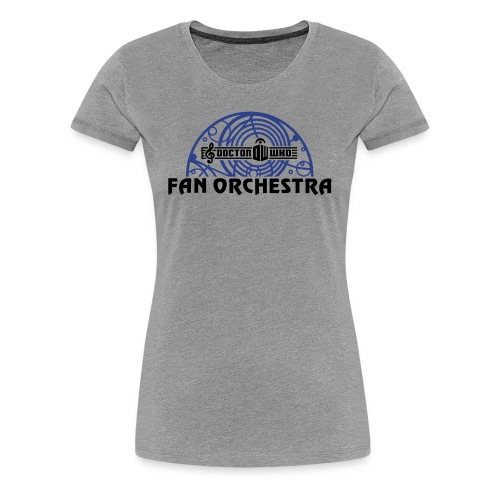Women's Gray - DWFO logo T - Women's Premium T-Shirt