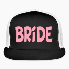 Bride Party Trucker Cap Hat Design Caps