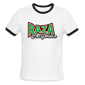 Raza California - Men's Ringer T-Shirt