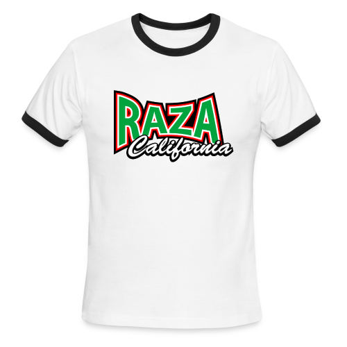 Raza California - Men's Ringer T-Shirt