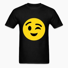Winky Face emoticon T-Shirt
