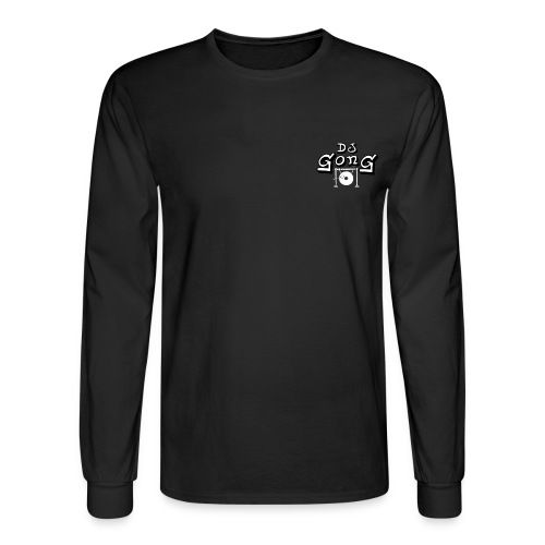 Long Black White Gong - Men's Long Sleeve T-Shirt