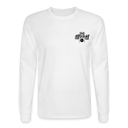 Long White Black Gong - Men's Long Sleeve T-Shirt