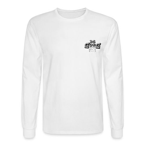 Long White White Gong - Men's Long Sleeve T-Shirt