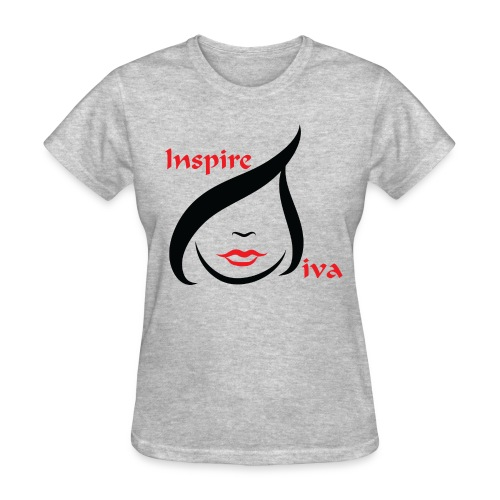 Inspired Diva Logo - Women's T-Shirt