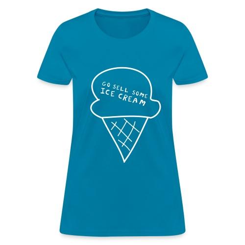 Ice Cream Tee (Women's) - Women's T-Shirt