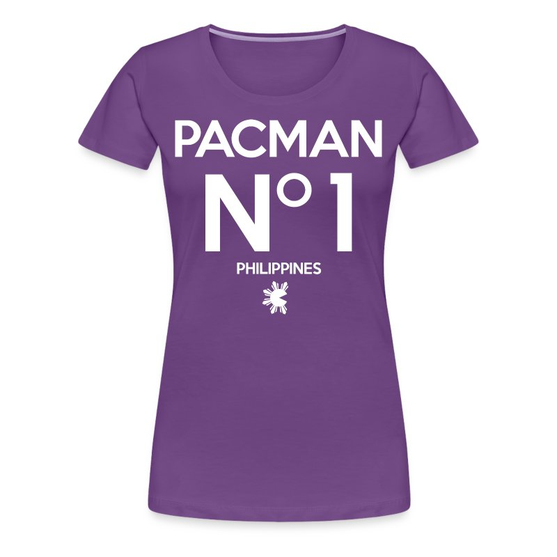 Manny Pacquiao Number 1 Womens Tee Shirt by AiReal Apparel - Women's Premium T-Shirt