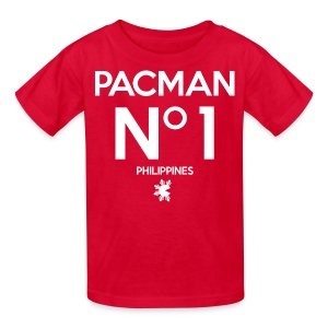 Manny Pacquiao Number 1 Kids Tee Shirt by AiReal Apparel - Kids' T-Shirt