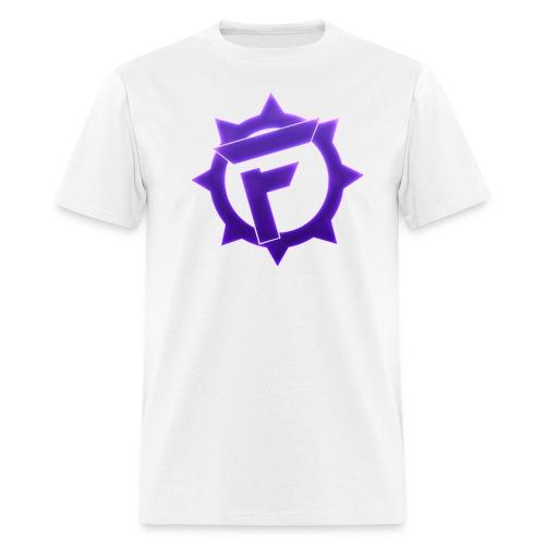 T-Shirt #1 (Purple Logo) - Men's T-Shirt