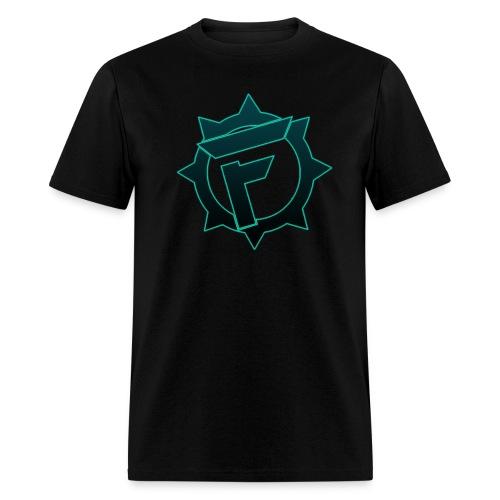 T-Shirt #2 (Blue/Teal Logo) - Men's T-Shirt