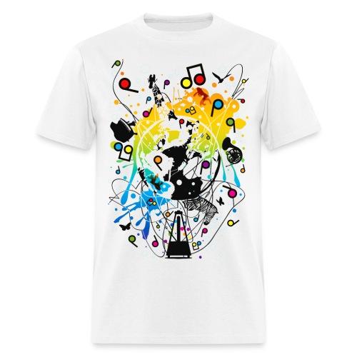 explo of music - Men's T-Shirt
