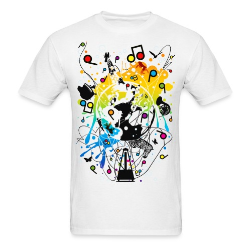 explo of music - Men's T-Shirt