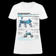 Women's T-Shirts ~ Women's T-Shirt ~ Curiosity Rover
