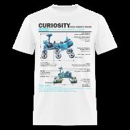 T-Shirts ~ Men's T-Shirt ~ Curiosity Rover