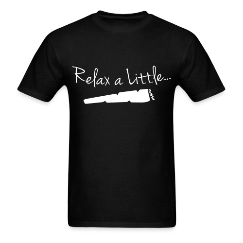 Relax a Little | WHITE | S-2XL - Men's T-Shirt