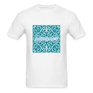 Abstract (Blue) - Men's T-Shirt