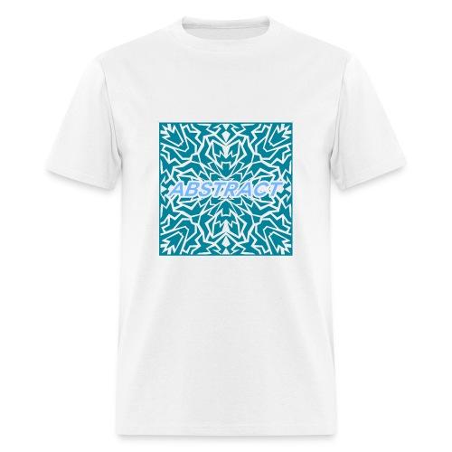 Abstract (Blue) - Men's T-Shirt