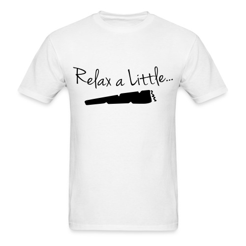 Relax a Little | BLACK | S-2XL - Men's T-Shirt