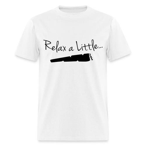 Relax a Little | BLACK | S-2XL - Men's T-Shirt