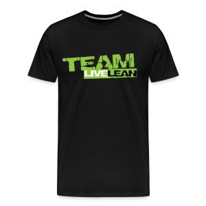 Team Live Lean Men's T-shirt - Men's Premium T-Shirt