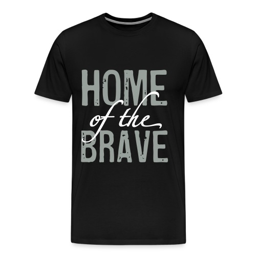 home of the brave - Men's Premium T-Shirt