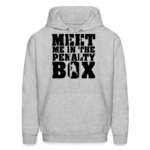 meet me in the penalty box - Men's Hoodie