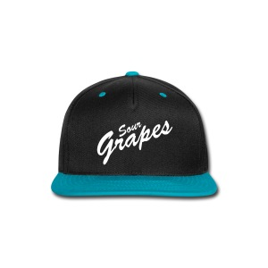 WHITE - Snap-back Baseball Cap