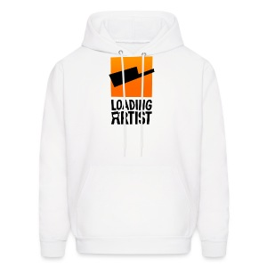 Men's Hoodie - webcomic,logo,loadingartist,loading,gregor,czaykowski,comic,artist