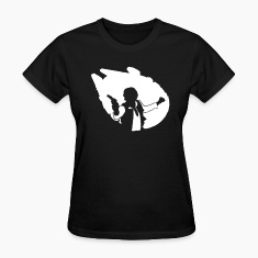 han_falcon2 Women's T-Shirts
