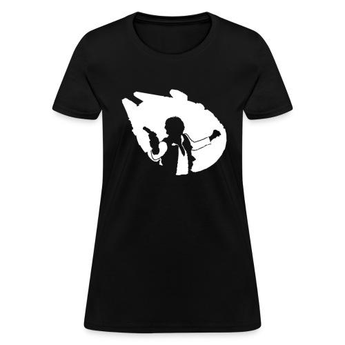 Han Millennium Falcon - Women's T-Shirt