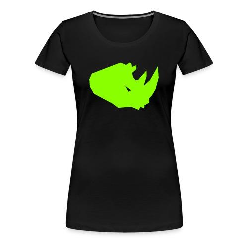 RiNO Shirt LightGreen Logo - Women's Premium T-Shirt