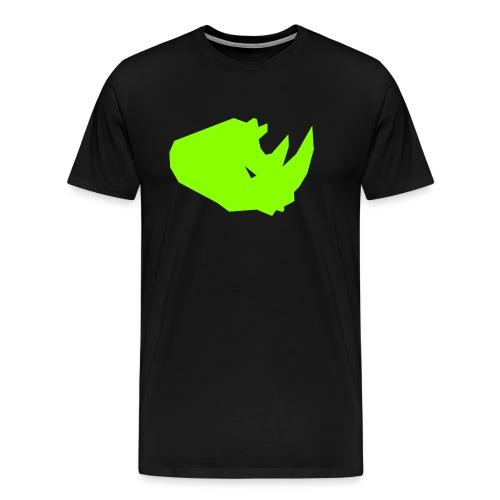 RiNO Shirt LightGreen Logo - Men's Premium T-Shirt