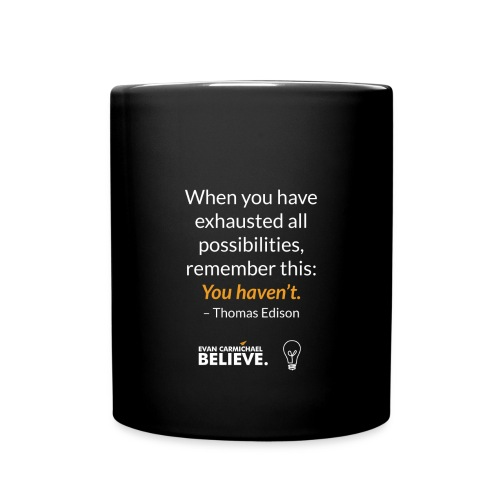 #BelievePossibilities Mug - Full Color Mug