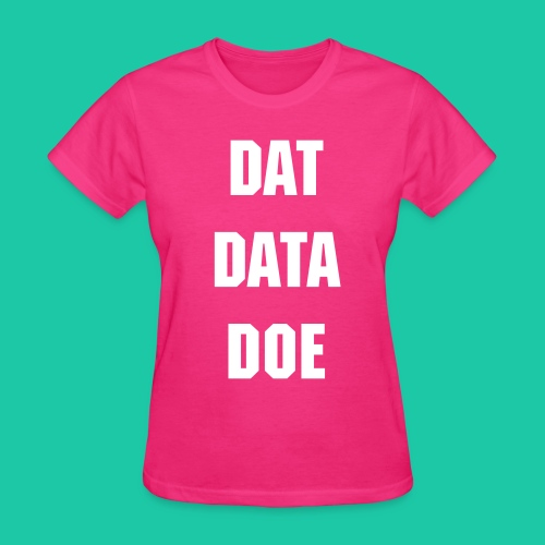 Dat Data (Purple) - Women's T-Shirt