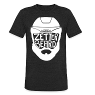 T-Shirts ~ Unisex Tri-Blend T-Shirt by American Apparel ~ Zetterbeard
