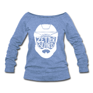 Long Sleeve Shirts ~ Women's Wideneck Sweatshirt ~ Zetterbeard