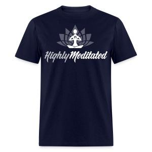 Highly Meditated Men's Tee - Men's T-Shirt