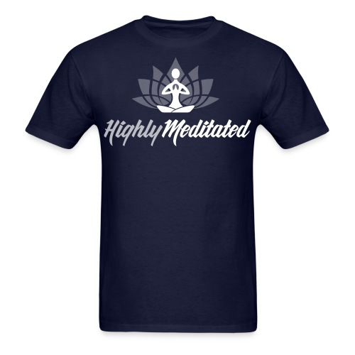 Highly Meditated Men's Tee - Men's T-Shirt