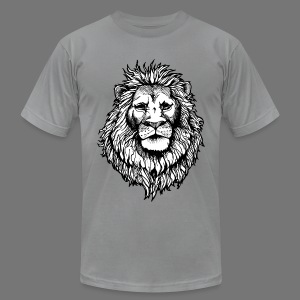 The Noble Lion - Men's T-Shirt by American Apparel