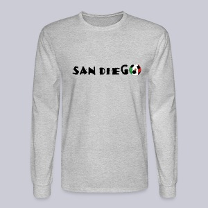 San Diego Mexican Soccerball - Men's Long Sleeve T-Shirt