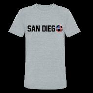 T-Shirts ~ Unisex Tri-Blend T-Shirt by American Apparel ~ San Diego Mexican Soccerball