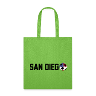 Bags & backpacks ~ Tote Bag ~ San Diego Mexican Soccerball