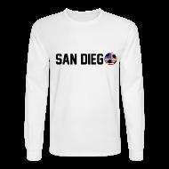 Long Sleeve Shirts ~ Men's Long Sleeve T-Shirt ~ San Diego Mexican Soccerball