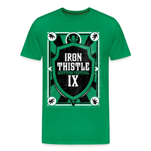 Iron Thistle Shirt - Pick your color! - Men's Premium T-Shirt