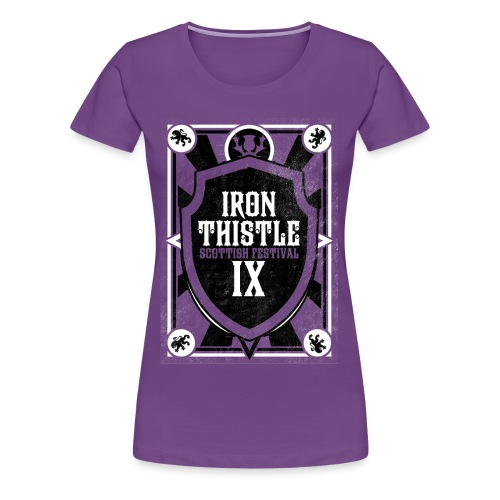 Iron Thistle Women's Fitted Shirt - Pick your color! - Women's Premium T-Shirt