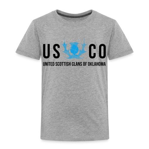 USCO Thistle Toddlers' Shirt - Toddler Premium T-Shirt