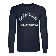Long Sleeve Shirts ~ Men's Long Sleeve T-Shirt ~ Oceanside California